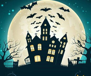 Halloween, bats, and october image