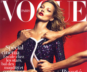 kate moss, vogue, and model image