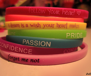 bracelet, confidence, and quote image