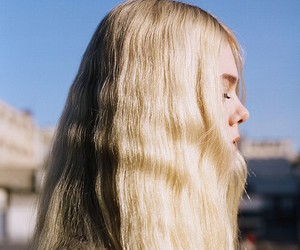 girl, blonde, and Elle Fanning image