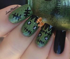 Halloween, nail art, and nails image
