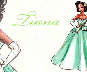 disney, fashion, and princess image