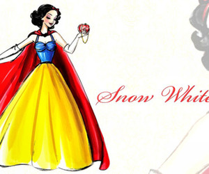 disney, snow white, and drawing image