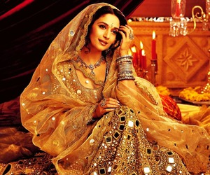bollywood, devdas, and madhuri dixit image
