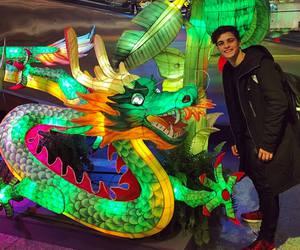 martin garrix, dragon, and dj image