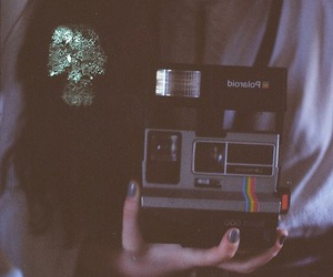 vintage, polaroid, and photography image