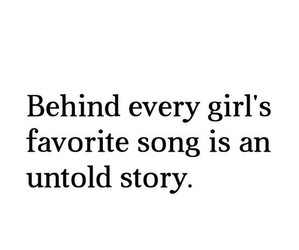 song, girl, and quotes image