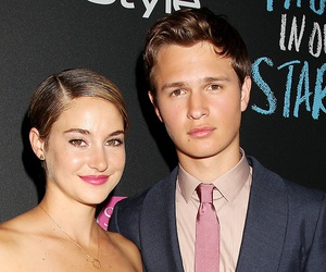 hazel, Shailene Woodley, and the fault in our stars image