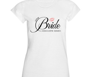 bride, groom, and label image