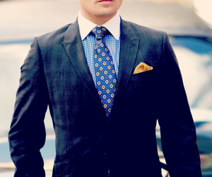 ed westwick, chuck, and chuck bass image