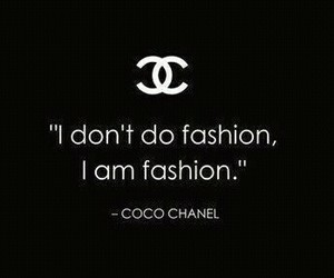 coco chanel and fashion image