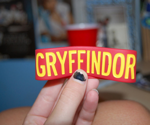gryffindor, harry potter, and bracelet image