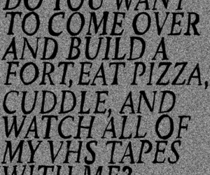 cuddle, love, and pizza image