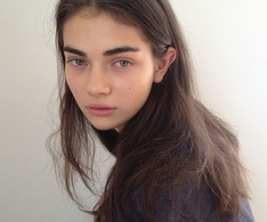 girl, model, and pale image