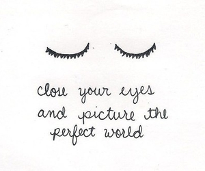 eyes, perfect, and world image
