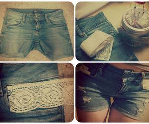 diy, fashion, and shorts image