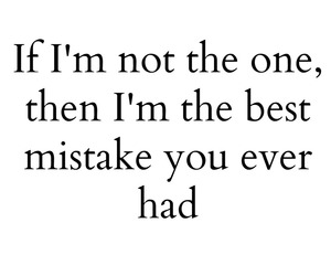 love, mistakes, and quotes image