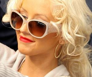 christina aguilera, diva, and sunglasses image