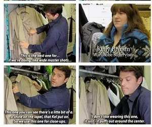 funny, supernatural, and misha collins image