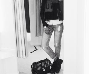 palladium, autumn, and boyfriend jeans image