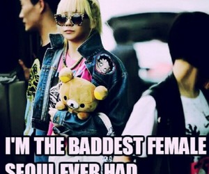 2ne1, CL, and the baddest female image
