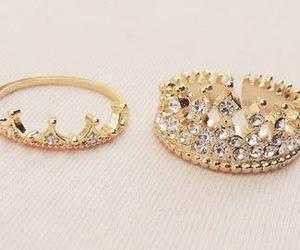ring, princess, and rings image