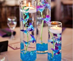 flowers and candles image