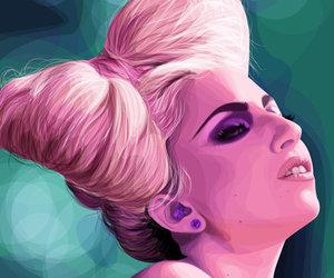 Lady gaga and hair image