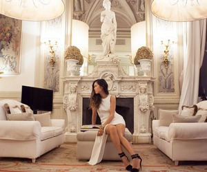 luxury, white, and dress image