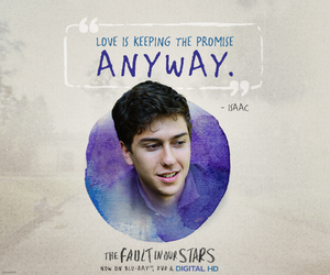 the fault in our stars, isaac, and quote image