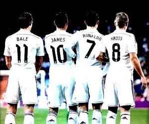 bale, madrid, and Ronaldo image