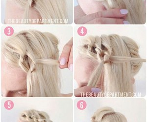 blonde, chic, and hairstyle image