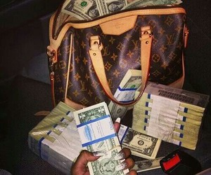 money, luxury, and Louis Vuitton image