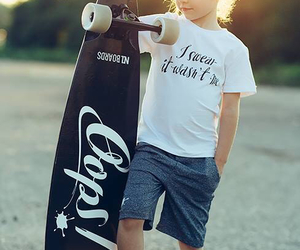 longboard, summer, and sweet image