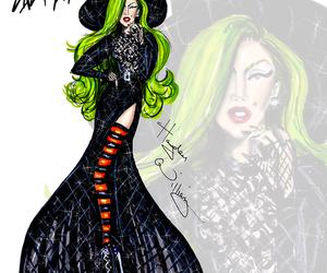 hayden williams, Lady gaga, and illustration image