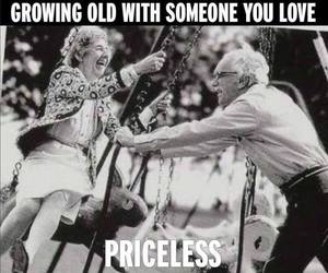 love, couple, and priceless image