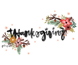 thanksgiving, autumn, and thankful image