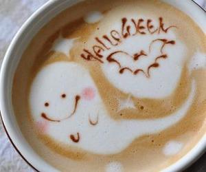 coffee, Halloween, and ghost image