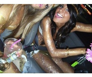 glitter, party, and pretty image