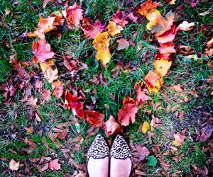 fall, fun, and girl image