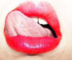 boca, red, and lips image