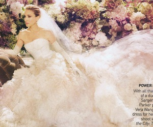 carrie, Carrie Bradshaw, and Vera Wang image