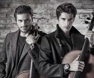 cello, 2cellos, and handsome image