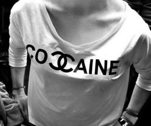chanel, cocaine, and drugs image