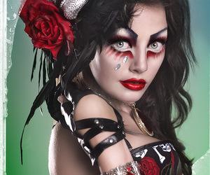 alternative, corset, and deviantart image
