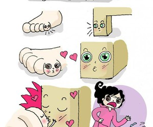love, funny, and love story image