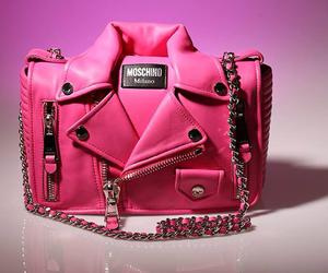 fashion, Moschino, and pink image