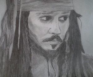 captain, johnny depp, and mine image