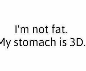 fat, funny, and lol image