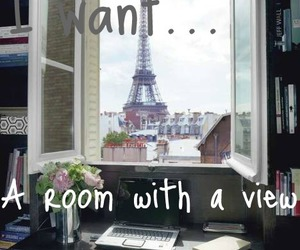 eiffel tower, paris, and room image